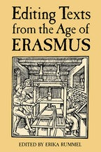 Editing Texts from the Age of Erasmus