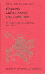 Chaucer's Miller's, Reeve's, and Cook's Tales