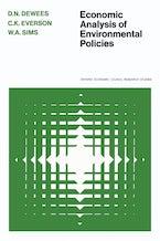 Economic Analysis of Environmental Policies