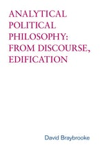 Analytical Political Philosophy