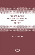 The Languages of Criticism and the Structure of Poetry