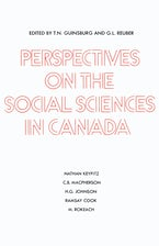 Perspectives on the Social Sciences in Canada