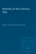 Identity of the Literary Text