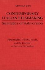 Contemporary Italian Filmmaking