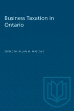 Business Taxation in Ontario