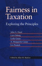 Fairness in Taxation