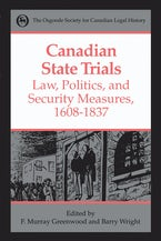 Canadian State Trials, Volume I