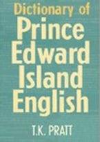 Dictionary of Prince Edward Island English