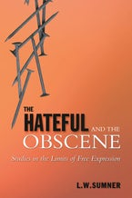 The Hateful and the Obscene
