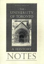 Notes to the University of Toronto