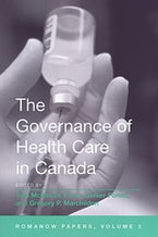 The Governance of Health Care in Canada