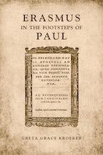 Erasmus in the  Footsteps of  Paul