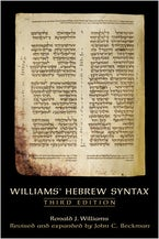 Williams' Hebrew Syntax, Third Edition
