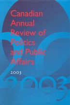 Canadian Annual Review of Politics & Public Affairs