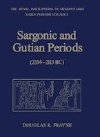 Sargonic and Gutian Periods (2234-2113 BC)