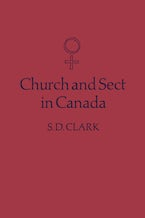 Church and Sect in Canada