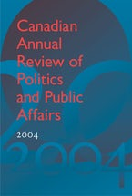 Canadian Annual Review of Politics and Public Affairs 2004