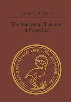 The Manuscript Tradition of Propertius