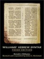 Williams' Hebrew Syntax (3rd Edition)
