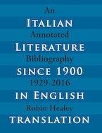Italian Literature since 1900 in English Translation