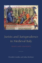 Jurists and Jurisprudence in Medieval Italy