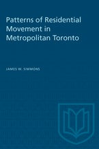Patterns of Residential Movement in Metropolitan Toronto