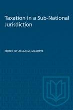 Taxation in a Sub-National Jurisdiction