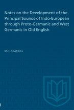 Notes on the Development of the Principal Sounds of Indo-European through Proto-Germanic and West Germanic in Old English