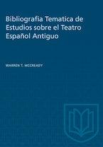 Bibliografia Tematica de Estudios sobre el Teatro Español Antiguo