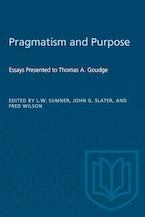 Pragmatism and Purpose