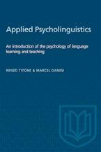 Applied Psycholinguistics