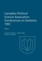 Canadian Political Science Association Conference on Statistics 1961
