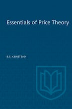 Essentials of Price Theory