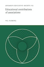 Educational Contributions of Associations