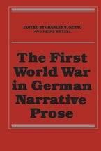 The First World War in German Narrative Prose