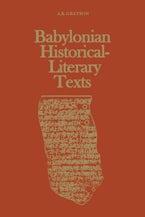 Babylonian Historical-Literary Texts
