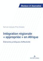 Intégration régionale « appropriée » en Afrique